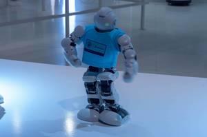 Lynx Alpha 1E Roboter beim Laufen