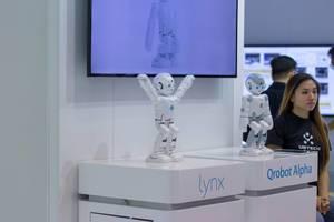 Lynx Qrobot Alpha auf der IFA Berlin 2018