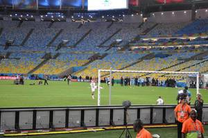 Maracanã-Stadion in Rio de Janeiro, Brasilien