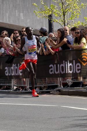 Marathon runner Abel KIRUI - London Marathon 2018