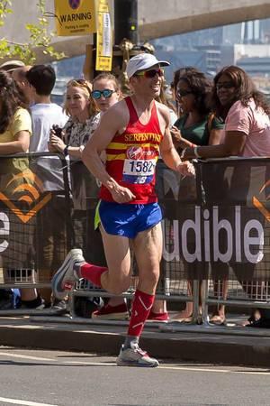 Marathon runner Will Green - London Marathon 2018