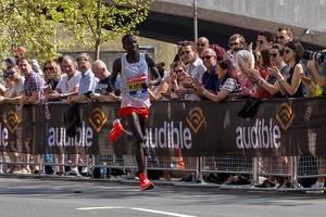 Marathonläufer Abel KIRUI - London Marathon 2018