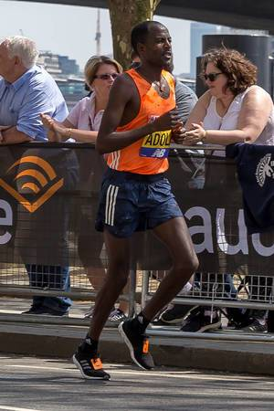 Marathonläufer beim London Marathon 2018