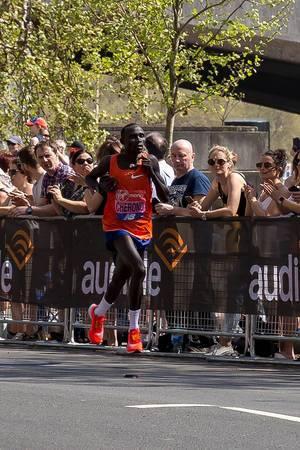 Marathonläufer Lawrence CHERONO - London Marathon 2018