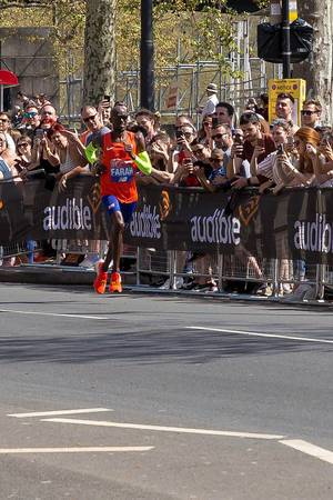 Marathonläufer Mo Farah - London Marathon 2018