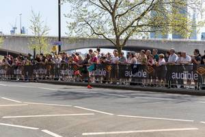 Marathonläufer Tola Shura KITATA - London Marathon 2018