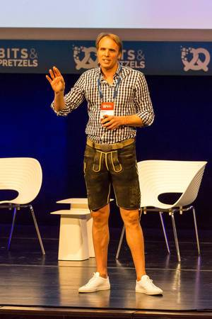 Marc Samwer auf der Bits&Pretzels 2017