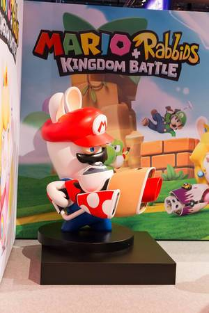 Mario + Rabbids Kingdom Battle Amiibo - Gamescom 2017, Köln