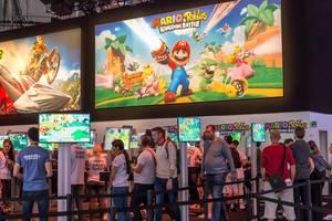 Mario + Rabbits Kingdom Battle