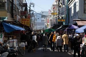 Markt in Chūō, Tokyo