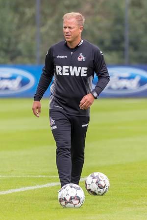 Markus Anfang beim Training am 25.06.2018