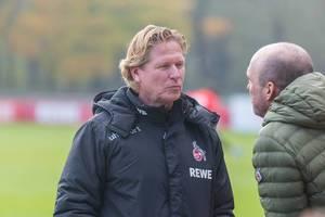 Markus Gisdol ruht in sich beim Training seines neuen Clubs 1.FC Köln