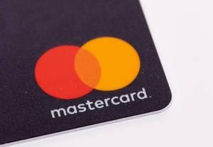 Mastercard logo on white background