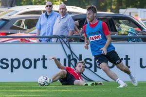 Matthias Bader beim Training am 12.09.2018
