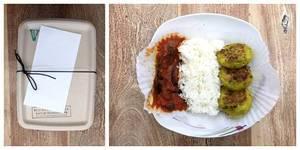 Mealmates: Aloo ti Tikki mit würzigen Auberginen und Jasmin Reis