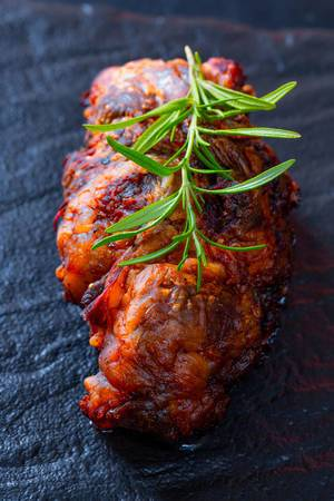 Meat loaf with rosemary