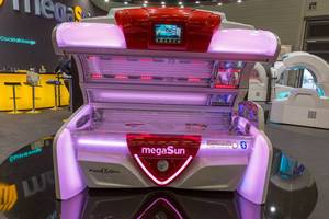 MegaSun 8000 alpha Hybrid Solarium