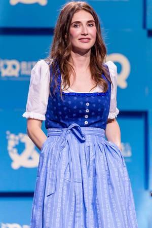 Melisandre-Schauspielerin Carice van Houten auf der Bits & Pretzels 2017