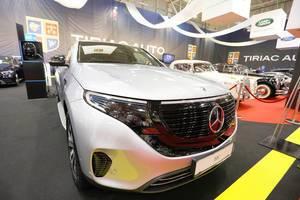 Mercedes-Benz EQC: Elektro-SUV beim Auto Show in Bukarest