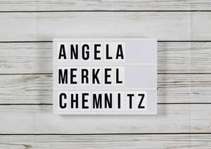 Merkel in Chemnitz: »Wer nicht reden will, zu dem kann ich nicht gehen
