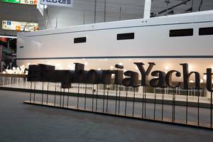 Messestand Euphoria Yachts, boot Düsseldorf 2017s