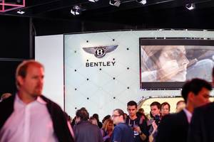 Messestand von Bentley bei der IAA 2017 in Frankfurt am Main