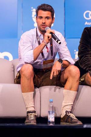 Michael Treskow, Partner at Eight Roads Ventures, was one of the jury members responsible for choosing the best startup at #bits2019
