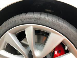 Michelin 235/35 ZR 20 Extra Load Reifen Seitenansicht