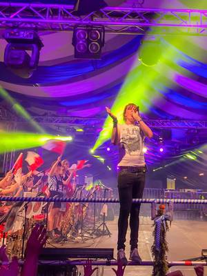 Mickie Krause bei seiner Show auf Kölner Oktoberfest