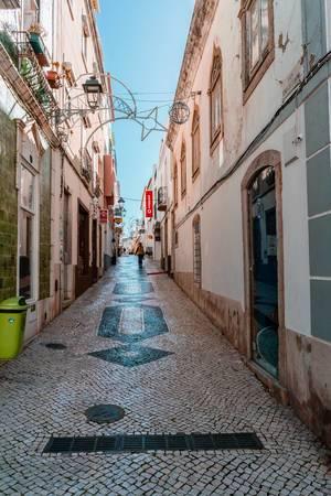 Mideval street of Lagos, Portugal  Flip 2019