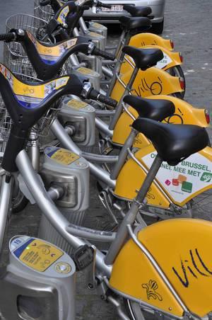 Mieträder in Brüssel