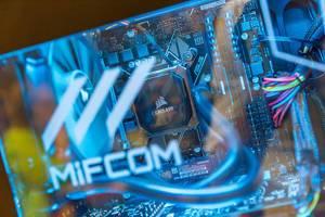 MIFCOM Gaming PC mit Corsair Wasserkühlung