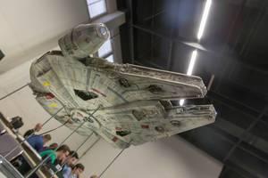 Millennium Falcon aus Star Wars. Spielzeug
