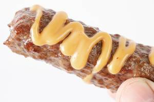 Minced meat Kebab with Mustard Sauce (Flip 2019)