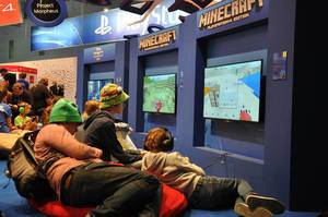Minecraft @ Gamescom 2014
