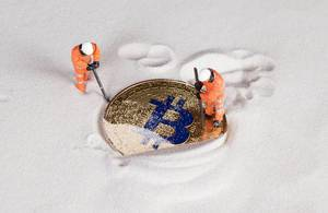 Miners digging ground to uncover golden Bitcoin