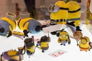 Minions Plüschfiguren - Gamescom 2017, Köln