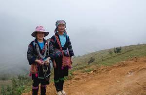 Minority Women inTradional clothes Vietnam
