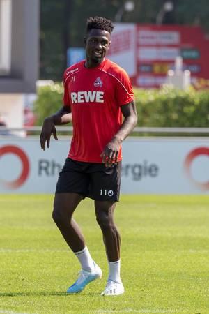 Mittelfeldspieler des 1. FC Köln, beim Training - Kingsley Schindler