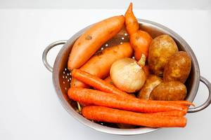 Mix of Carrots, Potatoes, Onion, Sweet Potatoes