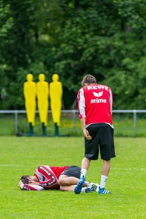 """Mladenovic und Jojic mit """"bösem Foul"""" beim Training"""