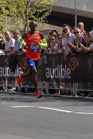 Mo Farah (London Marathon 2018)