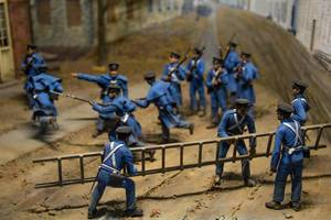 Model of Civil War Soldiers in Harper
