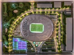 Model of Education City Stadium
