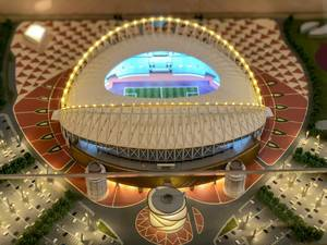 Model of Khalifa International Stadium