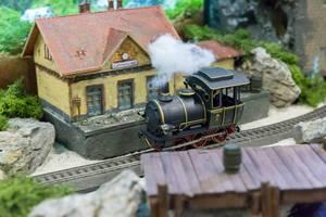 Modellbahn in Bewegung