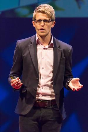 Moderator at TEDxVenlo 2017