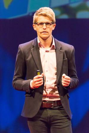 Moderator bei der TEDxVenlo 2017