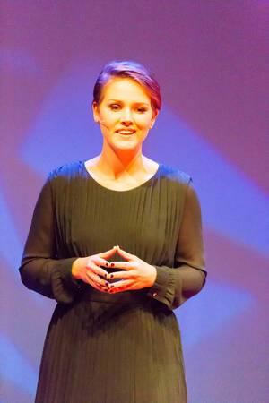 Moderatorin Martine van der Meijden – TEDxVenlo 2017