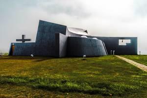 Modern church in Iceland / Moderne Kirche in Island